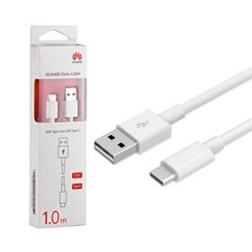 Cable HUAWEI USB a USB tipo C 1M Blanco