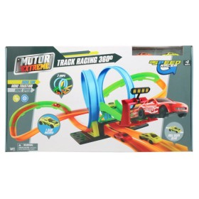 MOTOR EXTREME Pista de carros track racing 360º 2 loops more speed