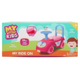 MY LITTLE KIDS Montable my ride on rosado