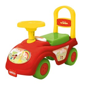 MY LITTLE KIDS Montable my ride on rojo