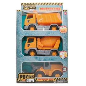 POWER DRIVE set de vehículos de construcción