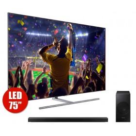 "Tv 75"" SAMSUNG 75Q7FAM UHD + Barra de Sonido n650"