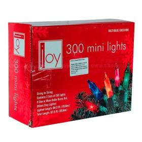 NAVIDAD Set x 300 Luces de Navidad de Colores