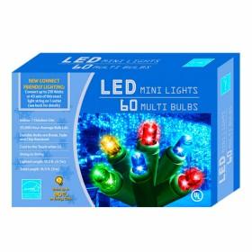 NAVIDAD Set x 60 Luces de Navidad Led en varios Colores