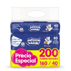 Toallitas WINNY Avena x 200 unid. PRECIO ESPECIAL