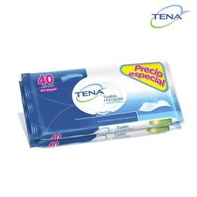 Toallas Húmedas TENA x 80 und.