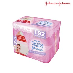 Toallitas Húmedas JOHNSONS Baby x 192 unid.