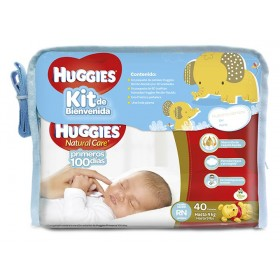 Kit de Bienvenida HUGGIES Natural Care