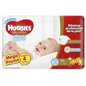 Pañales HUGGIES Natural Care Pequeño Pague 46 Lleve 50