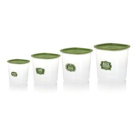 Set Despensa ESTRA 4 recipientes Verde