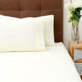 Semijuego de cama K-LINE King Ajustable Beige 144 hilos
