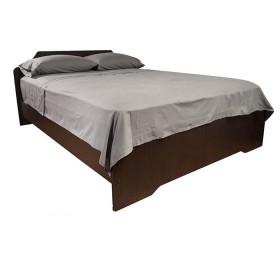 Juego de cama K-LINE Extradoble Sesgo Gris 144 hilos