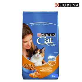 Cat Chow PURINA Adultos FortiDefense 3Kg
