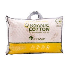 Set x 2 Almohadas DISTRIHOGAR de algodón orgánico 45 x 65 cm