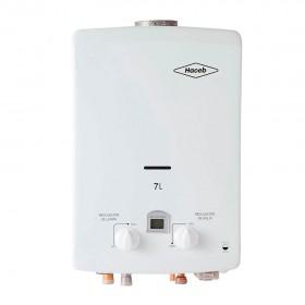 Calentador de Paso HACEB Tiro Natural 7Lt GN DISP Blanco1