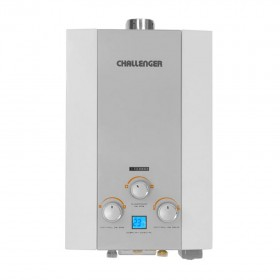Calentador de Paso CHALLENGER 12LT WHG7124 GN TF Gris1