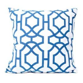 Cojín K-LINE 45 x 45 Azul/Blanco 64