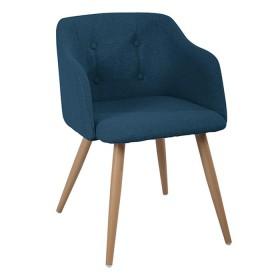 Silla de diseño TUKASA Azul 80101A