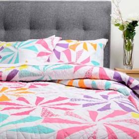 Cubrecama Doble K-LINE Estampado Multicolor
