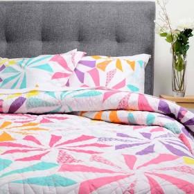 Cubrecama Sencillo K-LINE Estampado Multicolor