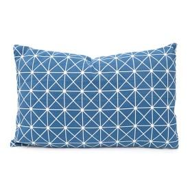 Cojín K-LINE Geometrizado Azul 30 x 50