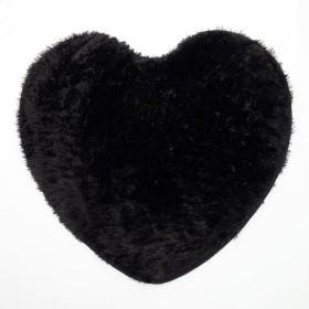Tapete K-LINE Corazón Negro