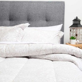 Comforter Ornamentación K-LINE Doble Khaki