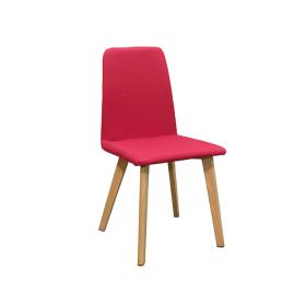 Silla de Diseño TUKASA Frankfurt Roja