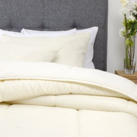 Comforter KAMUCHY Sencillo Crema