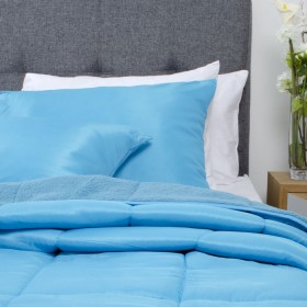 Comforter KAMUCHY Extradoble Azul