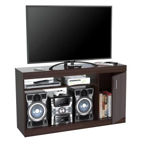 "Mesa para TV 50"" INVAL 7919 Wengue"