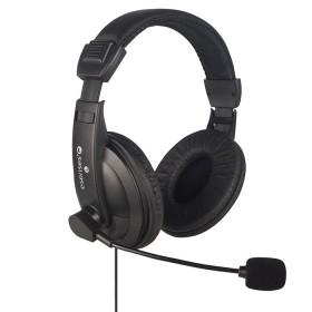 Diadema Multimedia esenses Auriculares Grandes Negro