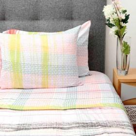 Juego de cama K-LINE Doble Estampado Multicolor 8 Microfibra 100%