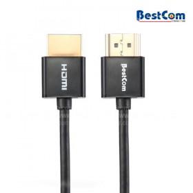 Cable BESTCOM HDMI Full HD Slim (Accesorios de Video)
