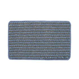 Tapete de baño TAPELANDIA Mix Grama 70 x 45 cm Azul/Gris/Blanco