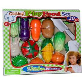 KITCHEN COLLECTION set de verduras 20 piezas