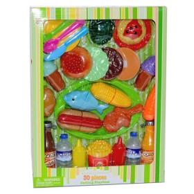 KITCHEN COLLECTION set de comida y accesorios 30 piezas