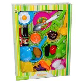 KITCHEN COLLECTION set de cocina y comida 30 piezas
