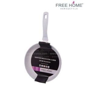 Sartén Inducción - FREE HOME 24 cm U Blanco BFT-SFP