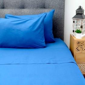 Juego de Cama FREE HOME Sencillo Azul