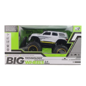RW Vehículo a control remoto Big Wheels Cross Country 2.4GHZ Blanco