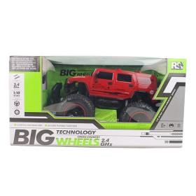 RW Vehículo a control remoto hummer Big Wheels Cross Country 2.4GHZ