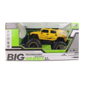 RW Vehículo a control remoto hummer Big Wheels Cross Country 2.4GHZ Amarillo