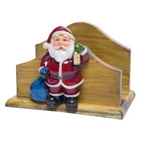 Figura de Santa Claus Porta Servilletas