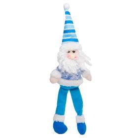 Colgante de Santa Claus Azul 12.5 cm