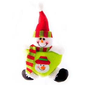 NAVIDAD Muñeco de Nieve de 5.5 cm