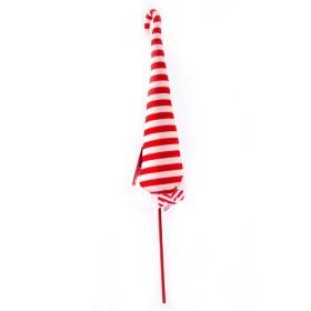 NAVIDAD Pick Gorra de Santa Candy Cane de 16 cm