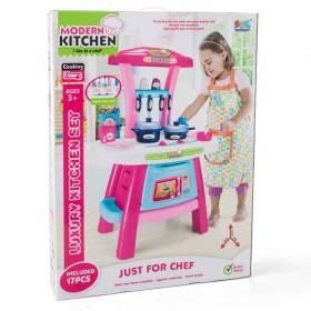 SFL Set luxury kitchen niñas rosado-azul