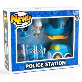 SFL Playset Vehículos de Policia