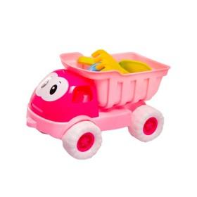 Camión Rosado con Accesorios